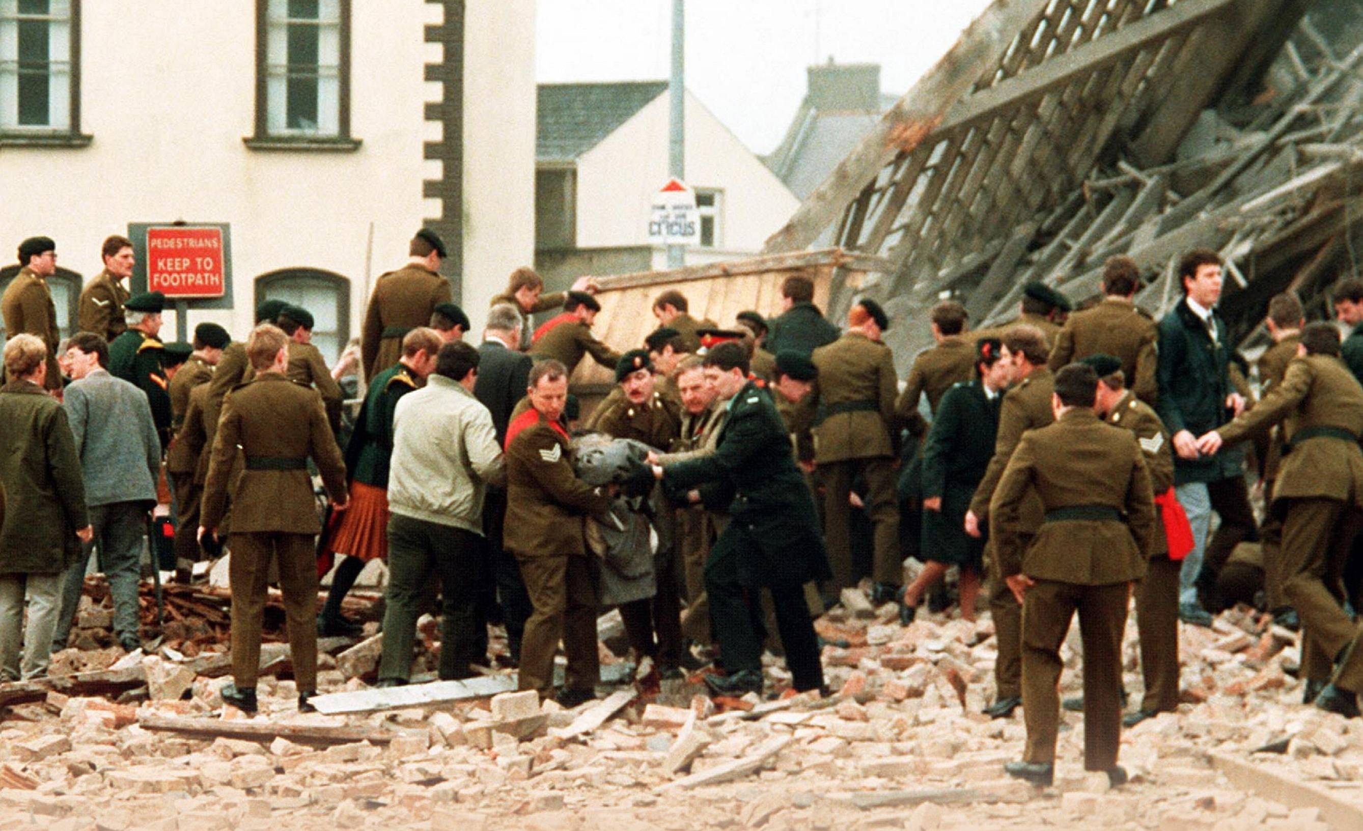 Image result for ira bomb victims