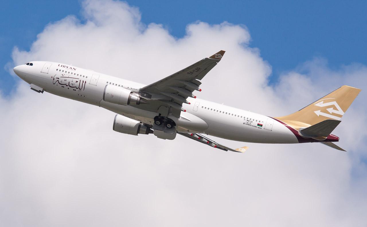 libya uçak
