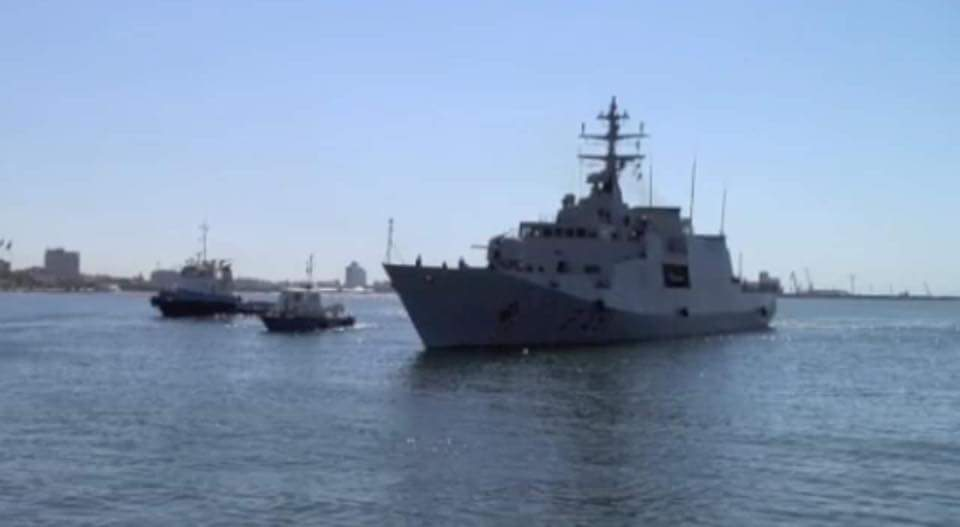 Italy warship pulls anchor from Libya after 5-day visit