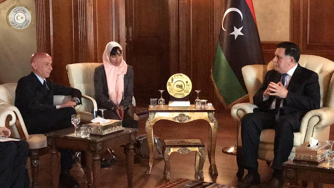 Head Of Presidential Council Goes Over Illegal Immigration With Italian Interior Minister The