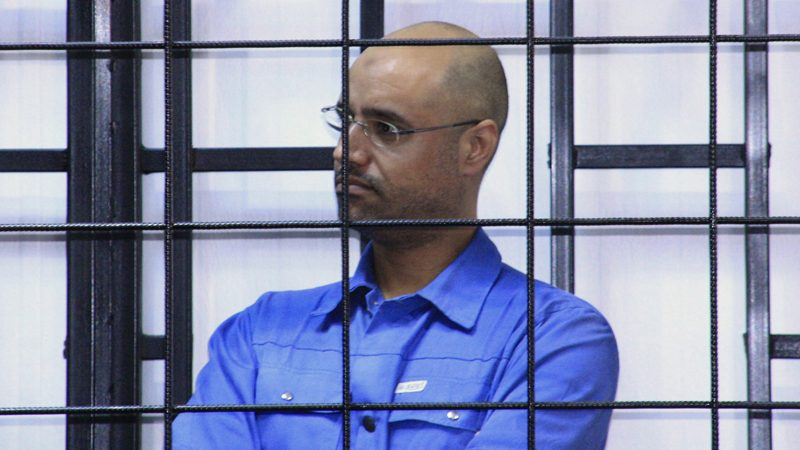 Gaddafi's son Saif still in prison in western Libya, military source says