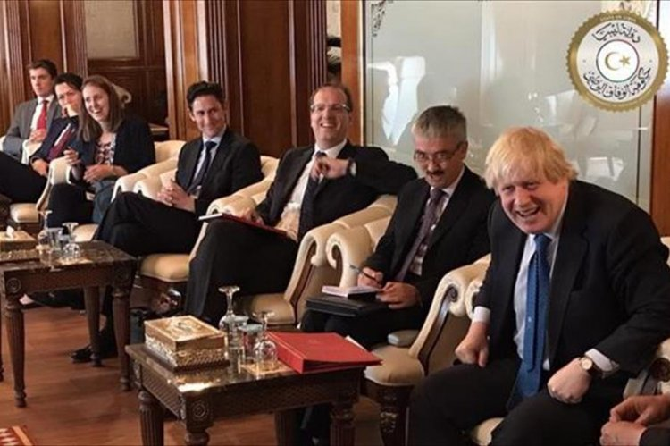 Boris Johnson visited Libya in May and August. Photo: Presidential Council
