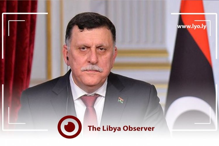 Libya's Al-Sarraj says Turkey's military backup is inter-country