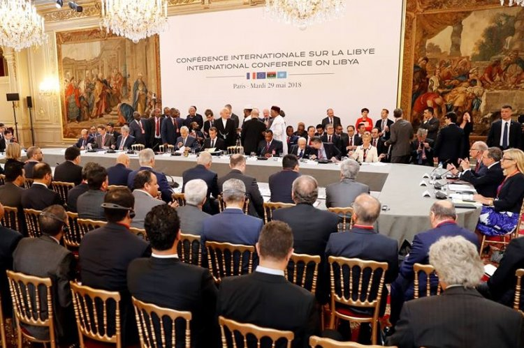 Libyan rivals meeting in France agree on elections to end ...