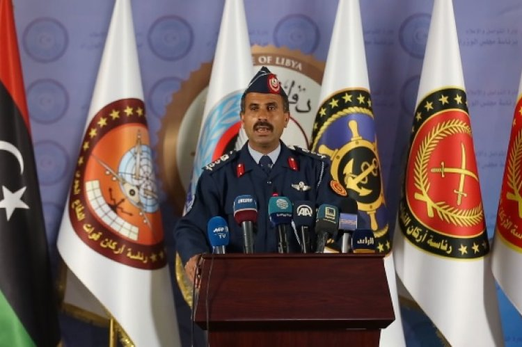 Spokesman for the Libyan Army Mohammed Gununu