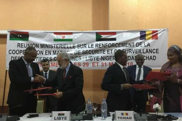 Libya Signs Borders Control Agreement With Southern Neighboring