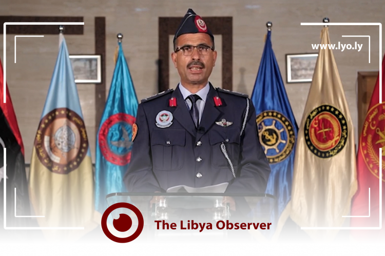 Spokesman of the Libyan Army, Colonel Mohammad Gununu