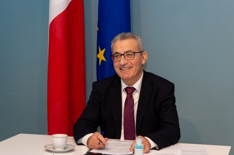 Maltese Foreign Minister Evarist Bartolo. Photo Maltese MOFA