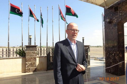Ambassador of Netherlands to Libya Eric Strating. Photo: Diplomatic Police