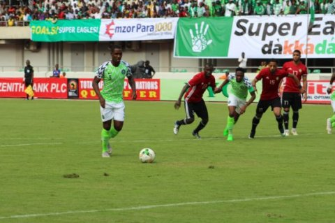 Libya vs Nigeria in AFCON Qualifiers (Photo: Internet)