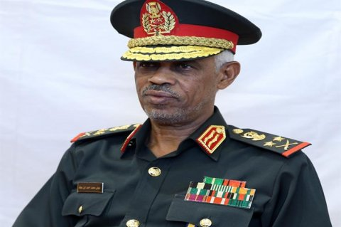 Sudanese Defence Minister Awad Ibn Ouf