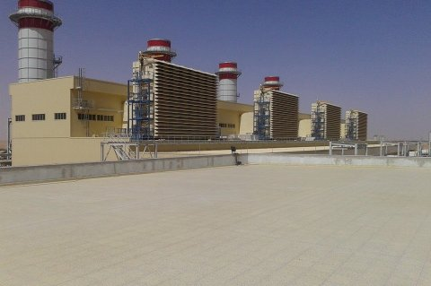 Ubari gas-fired power plant