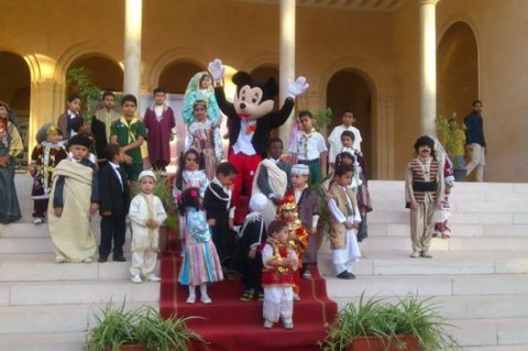 Children's Day celebrated in Tripoli. Monday, June 01, 2015. Photos:Culture Ministry