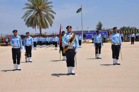 Graduation ceremony of the fourteenth batch of customs personnel. Tripoli, Monday, June 01, 2015.