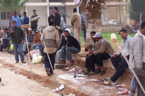 Foreign workers in Libya