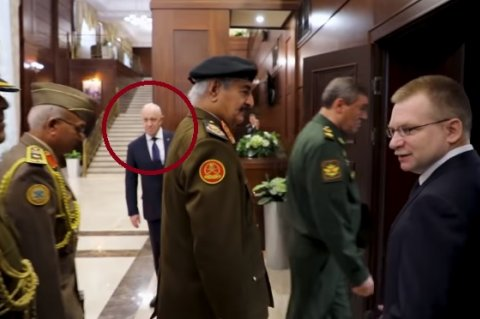 Yevgeny Prigozhin (red-circled)