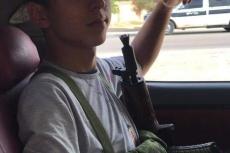 Militia boy Raouf al-Darsi