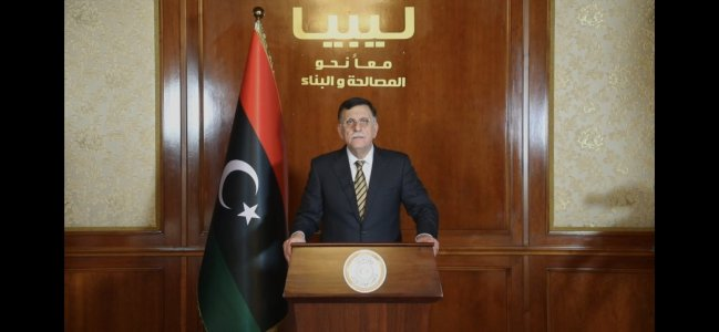 Al-Sarraj sends Libyans peace and stability message on February Revolution Day
