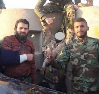 East Libya army digs up grave of opponent and puts him on display