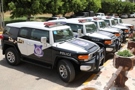 Interior Ministry reveals new police cars
