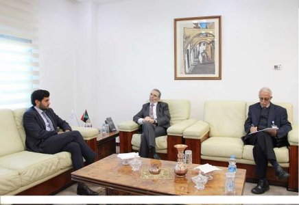 French Deputy Ambassador invites Sanallah to a workshop set up by French oil companies