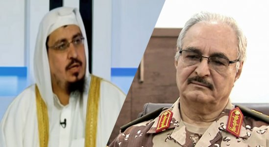 Saudi extremist cleric phones warlord Khalifa Haftar to give him instructions on how to build his army
