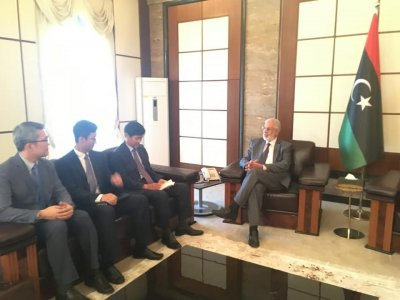 Foreign Minister Sayala reviews bilateral relations with South Korean ambassador
