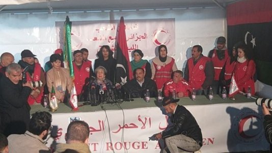 Algeria forms a bridge of relief assistance in support of the Libyan people