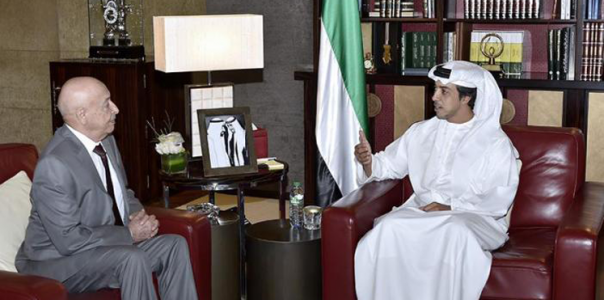UAE holds secret meetings with speaker of eastern parliament to expand its influence in Libya