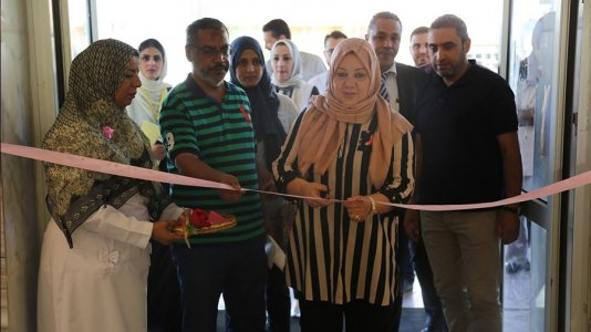 Ministry of health opens new sections for early detection of breast cancer
