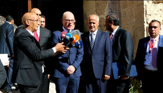 Video: Foreign ambassadors present credentials in Tripoli