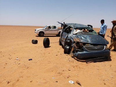 Five dead in fatal car accident in Sirte
