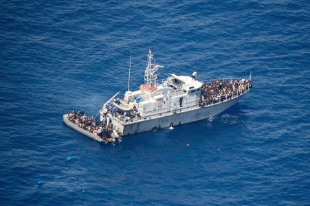 Libya Coast Guard rescues 203 migrants off Zliten