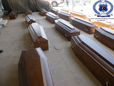 Libya returns to Egypt remains of 20 beheaded Copts