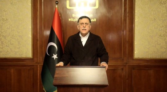Al-Sarraj vows to urge for Haftar's indictment at ICC