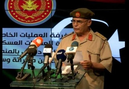 Defense Ministry spokesperson Al-Ghosri sacked after criticizing Egypt-hosted military meetings