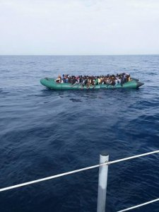 98 illegal immigrants rescued by Libyan Coast Guard