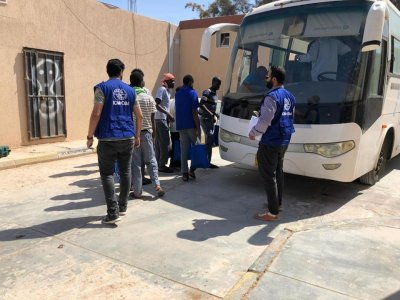 IOM repatriates 160 migrants via Misrata Airport