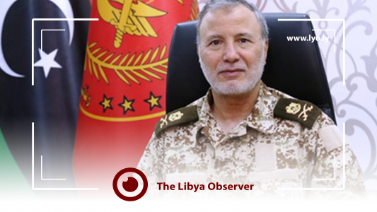 Mitiga Airport attacked by F-16 with US-made bombs, Major General Joueili says