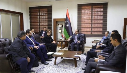 Ahmed Maiteq meets delegation of EU Parliament on immigration issue