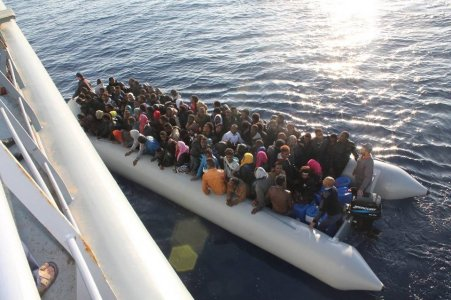 108 immigrants rescued off the coast of Libya