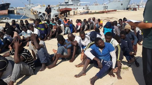 Illegal immigrants rescued off Garabulli for second day running