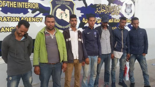 Detained immigrants go on hunger strike in Tripoli