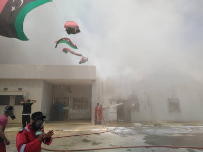 NOC forms committee to investigate fire at Oil Clinic