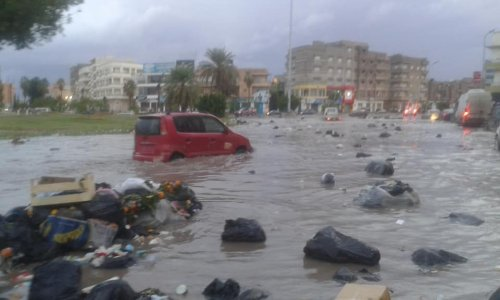 Benghazi residents take two days off due to bad weather