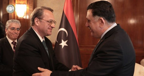 Russian delegation headed by Deputy Foreign Minister arrives in Tripoli