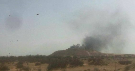 Eastern air force strikes a military camp for Presidential Council in central Libya