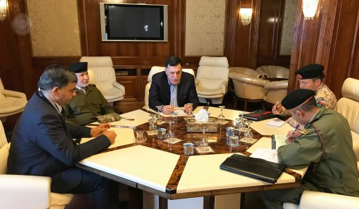 Head of Presidential Council meets top security officials