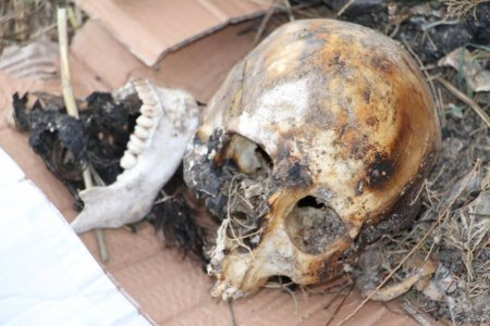 Security Directorate in Sirte recovers human remains from liberation war