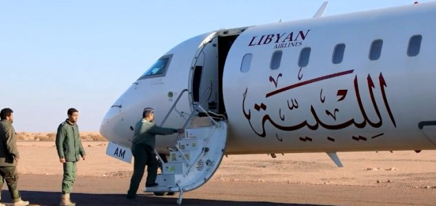 Libya's eastern Air Force forces civilian plane to land in Sabha's Teminhint airbase
